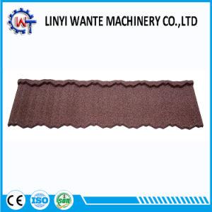 アルミニウム亜鉛鋼鉄石の上塗を施してある金属の屋根の鉄片タイル