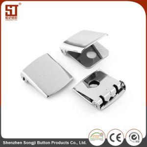 Monocolor簡単なWalkingzoneの金属はボタンのバックルに着せる