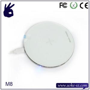 алюминиевый сплав высокого классаWireless быстроезарядное устройство для мобильных телефонов
