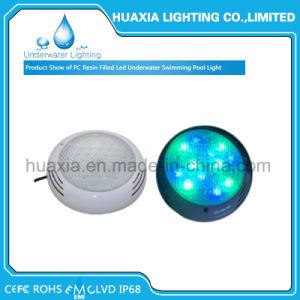 Indicatore luminoso del raggruppamento di nuoto subacqueo LED della resina di RGB 42W