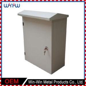 접속점 상자 덮개 금속 울안 이음쇠는 옥외 전기 상자를 연결한다