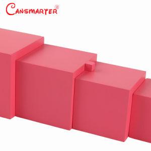 Torre de rosa Homeschool DIY Montessori Kids educativos de madeira brinquedos de crianças