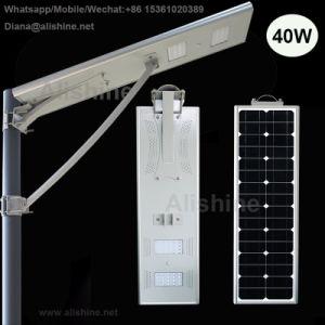 Indicatore luminoso di via solare tutto compreso del giardino di progetto LED di governo con 5 anni di garanzia