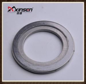Garniture augmentée/flexible de la boucle SS304 de graphite de spirale de blessure