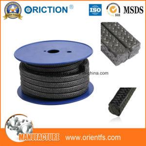 O material de vedação de fibra de embalagem de PTFE de aramida exportador núcleo de fibra de vidro de embalagem de compressão