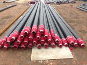 Isolierungs-Material des Rohr-En253 mit Polyurethan-Schaumgummi und HDPE Schutz äußer