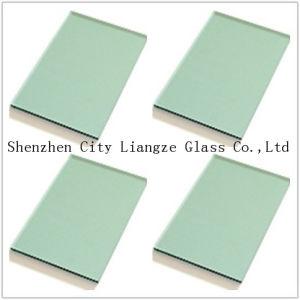Het zwarte Groenachtig blauwe Roze Glas van de Kleur/Gekleurd Glas/het Decoratieve Glas van de Bouw