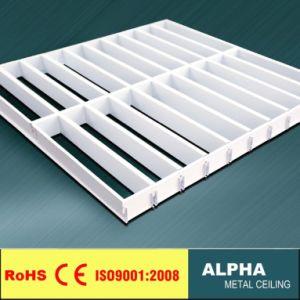 Grille métallique Supsended cellule en aluminium Panneau au plafond
