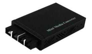 Sc del Convertidor de los Media de la Fibra de la Base-Fx del 1000m Mini