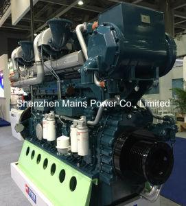 1500HP 1000rpm Yuchaiのボートのための海洋のディーゼル機関のMarinoモーター