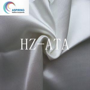 結婚式のための白いポリエステル卸売のサテンファブリック