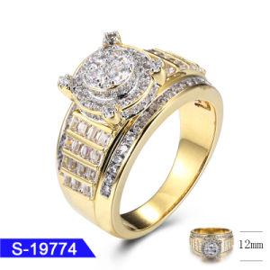 3ee6a5eb2861 Nuevo diseño de joyas de moda mayorista 925 Joyería de Plata el Hip Hop  Iced out CZ Anillo para mujer