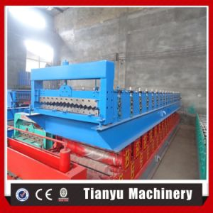 Feuilles de toiture en carton ondulé galvanisé machine à profiler froide 988