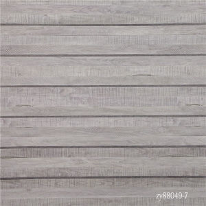 Прямой деревянный пол зерна бумаги