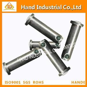 18-8ステンレス鋼の締める物の円形のヘッドメートルUリンクピン
