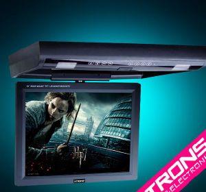 """15 """" 지붕에 의하여 거치되는 손가락으로 튀김 아래로 차 DVD 플레이어 (CR1502)"""