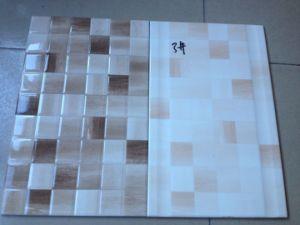 De Kleur Inkjet die van Nice de Ceramische Verglaasde Tegel van de Muur afdrukken