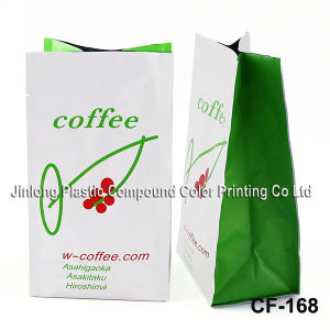 Valve를 가진 주문 Side Gusset Plastic Coffee Pouch