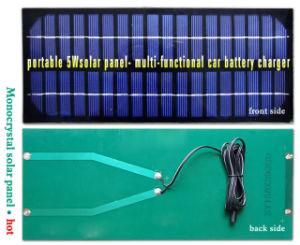 5 W 12V Panneau solaire portable