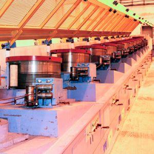 El trefilado Máquina para fabricar Clavos para soldar el cable/soldadura//malla de alambre del electrodo/PC cable
