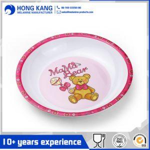 Cena de vajillas de melamina platos plato de comida