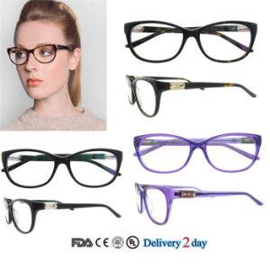 Het nieuwe Frame van de Oogglazen van het Frame van de Oogglazen van het Frame van Eyewear van de Manier met Ce en FDA