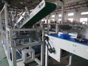 Caso de carga lateral automático Packer Equipo para envases de papel Wj-Llgb-15