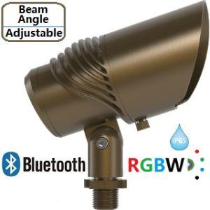 El paisaje de latón RGBW Bluetooth Haz protagonismo con ángulo ajustable IP65