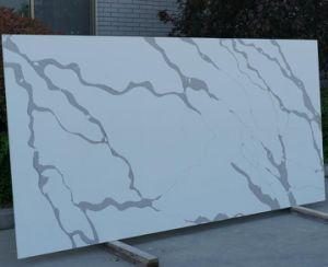 Kzs610 Calacatta quartz aggloméré pour Vanity Tops