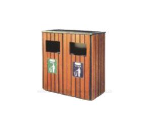 庭の建築材料の環境に優しいごみ箱(HK-XM18D4)
