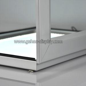 単一の側面のロックできる壁に取り付けられた屋外のライトボックス