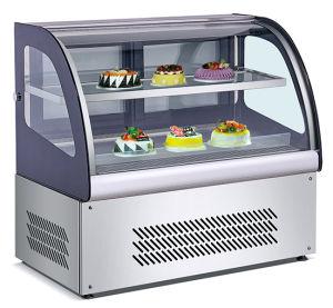 Réfrigérateur de gâteau vitrine à gâteaux, pain, de la pizza, le gâteau d'affichage, ce approuvé (XL-855)