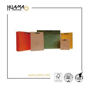 Sacchetto impaccante riciclato Kraft della carta da stampa del Brown/sacchetto del regalo/sacchetto di acquisto