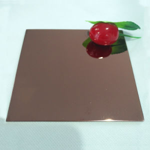 Лучшее качество Cr 201 304 316L Зеркальный декоративные 0,4 0,8 мм толстый лист из нержавеющей стали