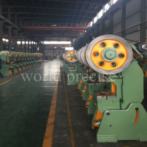 J23 80トンCフレームの単一のクランク軸穴あけ器のための機械押す力出版物