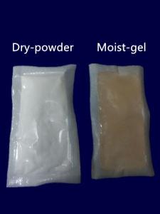 Garment utilisaient 10g 300 % de chlorure de calcium d'absorption élevée dessiccant pochette Super Dry