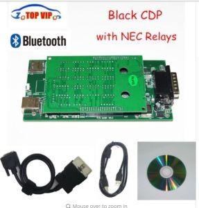 車及びトラックのための診察道具とプロ黒いCdp 2015 R1最も新しいCdp新しいVci Tcs Cdp Bluetooth CdpのプロOBD2スキャンナーTcs