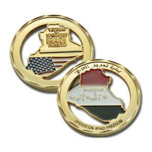 Desafío BSCI Fabricante de la moneda de metal personalizados desafío Coin