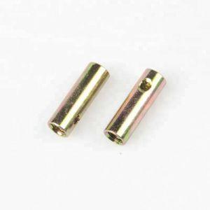 무료 샘플 아연은 두 배 구멍으로 배열된 배럴 견과를 도금했다