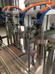 Pâte d'embouteillage de l'eau liquide automatique Machine de remplissage