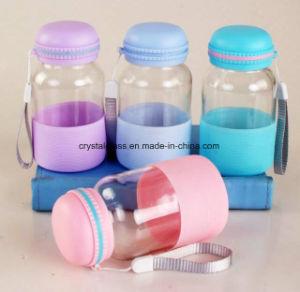 Nettes Entwurfs-Wasser-Glas-Cup mit Kürbis-Form-Schutzkappe