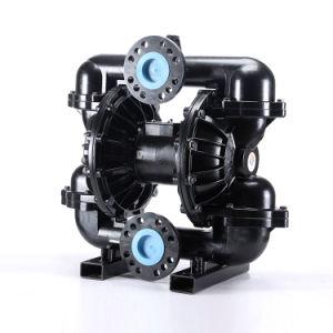 Haut débit de pompe à double membrane pneumatique en métal