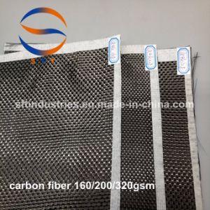 1K 3K 6K 12K Plain il panno della fibra del carbonio tessuto saia