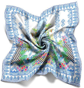 Digital-Drucken-nach Maß Silk Schal