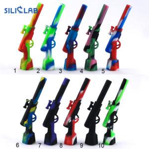 Heiße Verkaufs-unzerbrechliche Silikon-Ölplattform-Huka-rauchendes Wasser-Rohr
