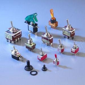 12mm Dpdtの金属15Aのトグルスイッチの6 Pin