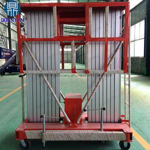 Elevatore di alluminio del mini uomo idraulico esterno