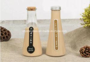 Frasco de vidro de chá - Leite garrafa de bebida Fashion caneca de vidro