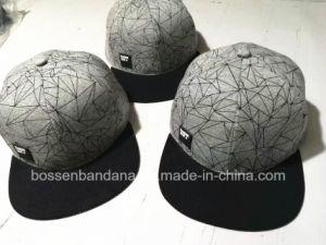 Produtos OEM de fábrica Design Personalizado de Impressão por Sublimação Térmica Boné Hip Hop