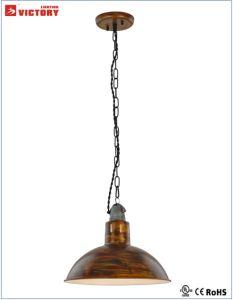 Pendente de ouro francês decorativos Industrial Iluminação (H-3712)